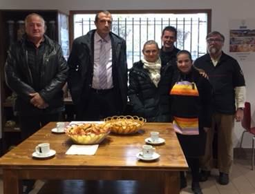 visite de M. le Sous-préfet des Pyrénées Orientales